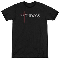 Tudors - Mens Logo Ringer T-Shirt