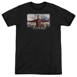 Tudors - Mens The Final Seduction Ringer T-Shirt