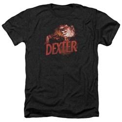 Dexter - Mens Drawing Heather T-Shirt