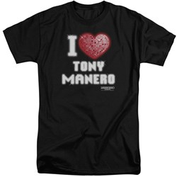 Saturday Night Fever - Mens I Heart Tony Tall T-Shirt