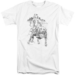 Popeye - Mens Walking The Dog Tall T-Shirt
