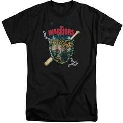 Warriors - Mens Shield Tall T-Shirt