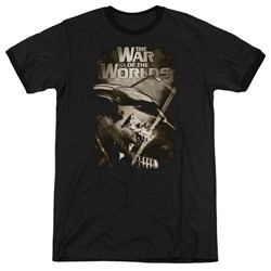 War Of The Worlds - Mens Death Rays Ringer T-Shirt