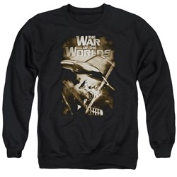 War Of The Worlds - Mens Death Rays Sweater