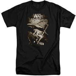 War Of The Worlds - Mens Death Rays Tall T-Shirt