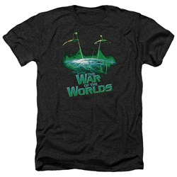 War Worlds - Mens Global Attack Heather T-Shirt