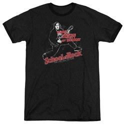 School Of Rock - Mens Rockin Ringer T-Shirt