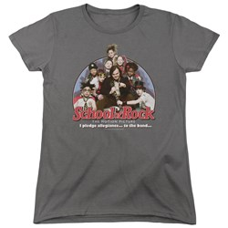School Of Rock - Womens I Pledge Allegiance T-Shirt