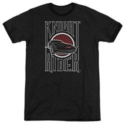 Knight Rider - Mens Logo Ringer T-Shirt