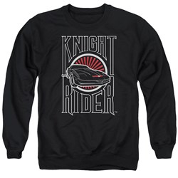 Knight Rider - Mens Logo Sweater