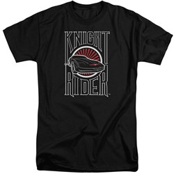Knight Rider - Mens Logo Tall T-Shirt