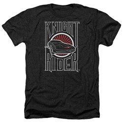 Knight Rider - Mens Logo Heather T-Shirt