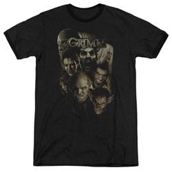 Grimm - Mens Wesen Ringer T-Shirt