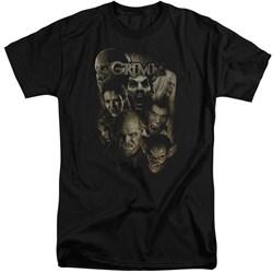 Grimm - Mens Wesen Tall T-Shirt