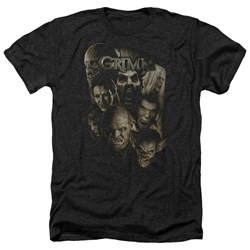 Grimm - Mens Wesen Heather T-Shirt