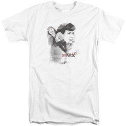 Bettie Page - Mens Transparent Bands Tall T-Shirt