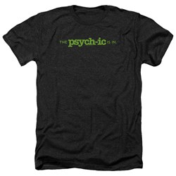 Psych - Mens The Psychic Is In Heather T-Shirt