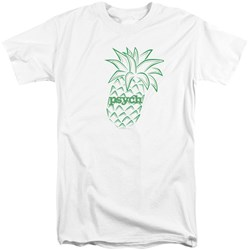 Psych - Mens Pineapple Tall T-Shirt
