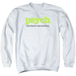 Psych - Mens Title Sweater