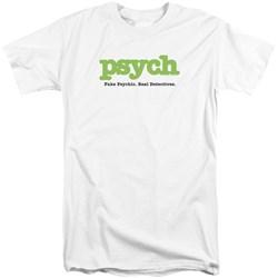 Psych - Mens Title Tall T-Shirt