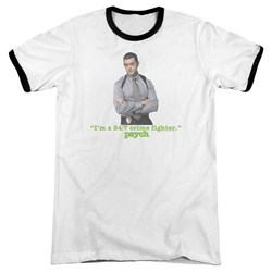 Psych - Mens 247 Ringer T-Shirt