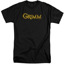 Grimm - Mens Gold Logo Tall T-Shirt