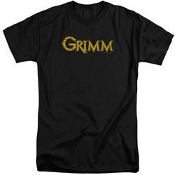 Grimm - Mens Gold Logo Tall T-Shirt