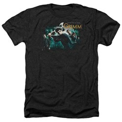Grimm - Mens Storytime Is Over Heather T-Shirt