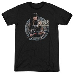 Xena - Mens The Warrior Ringer T-Shirt
