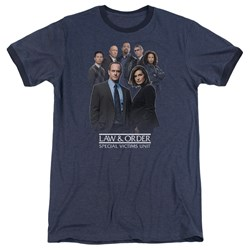 Law And Order SVU - Mens Team Ringer T-Shirt