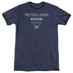 Eureka - Mens Tesla School Ringer T-Shirt