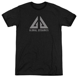 Eureka - Mens Global Dynamics Logo Ringer T-Shirt