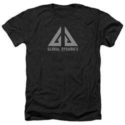 Eureka - Mens Global Dynamics Logo Heather T-Shirt
