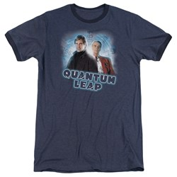 Quantum Leap - Mens Sam And Al Ringer T-Shirt