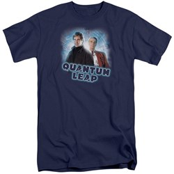 Quantum Leap - Mens Sam And Al Tall T-Shirt