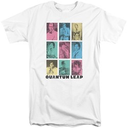 Quantum Leap - Mens Faces Of Sam Tall T-Shirt