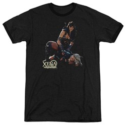 Xena - Mens In Control Ringer T-Shirt