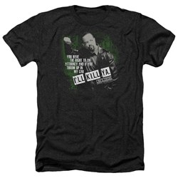 Law And Order SVU - Mens Ill Kill Ya Heather T-Shirt