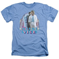 Miami Vice - Mens Miami Heat Heather T-Shirt