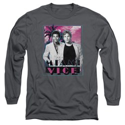 Miami Vice - Mens Gotchya Long Sleeve T-Shirt