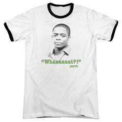 Psych - Mens Whaaaaaat?! Ringer T-Shirt