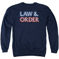 Law And Order - Mens Logo Sweater