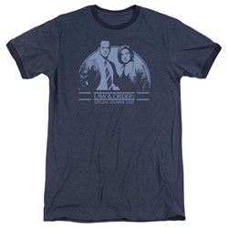 Law Order Svu - Mens Elliot And Olivia Ringer T-Shirt