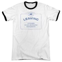 Warehouse 13 - Mens Now Leaving Univille Ringer T-Shirt