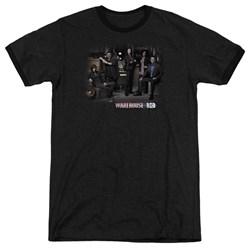 Warehouse 13 - Mens Warehouse Cast Ringer T-Shirt