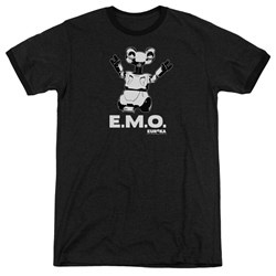 Eureka - Mens Emo Ringer T-Shirt