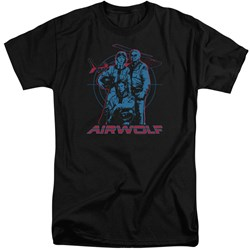Airwolf - Mens Graphic Tall T-Shirt