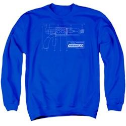 Warehouse 13 - Mens Tesla Gun Sweater