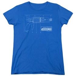 Warehouse 13 - Womens Tesla Gun T-Shirt