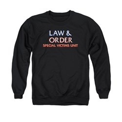 Law And Order SVU - Mens Logo Sweater